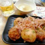 【阪東橋】立ち飲み『まいめり』アツアツたこ焼きと300円の生ビール