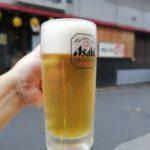 【高円寺】土曜の昼飲み!『炭火焼鳥 とんきち 高円寺店』道ばたで生ビール、乾杯っ!