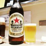 【上野】大人気!『ほていちゃん 上野4号店』汁なし黒ごまタンタンメンと赤星大瓶