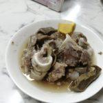 【亀戸】『立ち飲み居酒屋 ドラム缶 ヤッホー亀戸店』亀戸で食べられる西口的な皿なんこつ