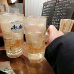 【関内】『やきとん酒場 ぎんぶた』立ち飲みカウンターでハッピーアワーのメガハイボール240円