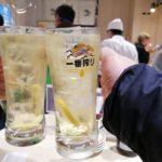 【横浜】立ち食い寿司!『めぐみ水産』ポルタの地下で〆はにぎりとハイボール